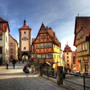 What are the things that make Germany a popular tourist destination?