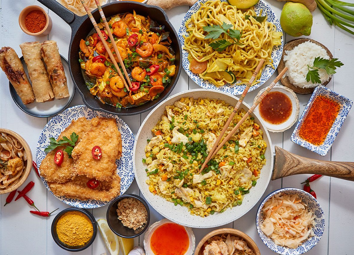 Have taste and health together at a Thai restaurant with smart dishes